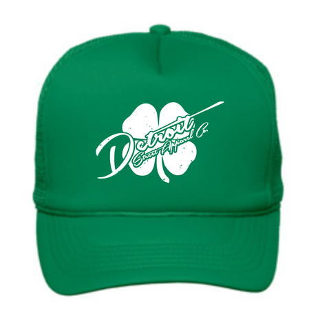 Detroit Street Apparel Co. 2016 St. Patrick's Day Trucker Hat