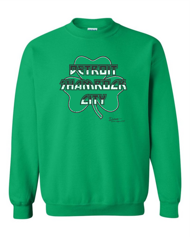 Detroit Shamrock City 2019 Crewneck Sweatshirt