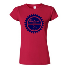 Detroit Street Apparel Co. Detroit 1701 Womens T-Shirt