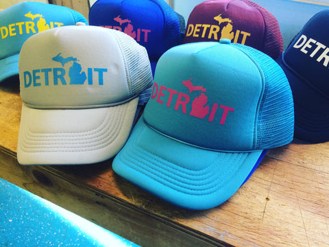 Detroit Street Apparel Detroit, MI Trucker Hats