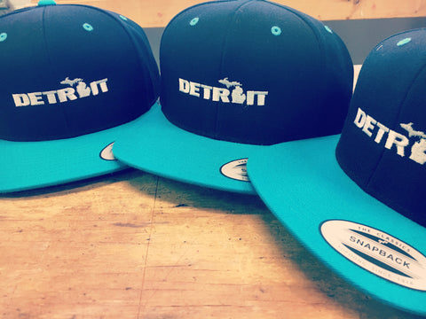 Detroit Snap Back Hat