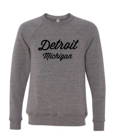 NEW Detroit Street Apparel Detroit Script Super Soft Sweatshirt