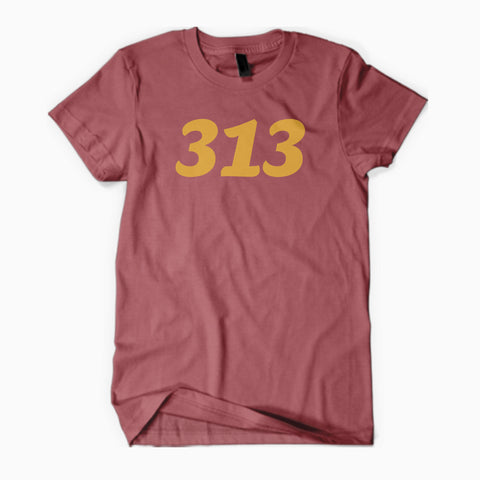 Detroit Street Apparel Classic 313 Comfort Color T-Shirt