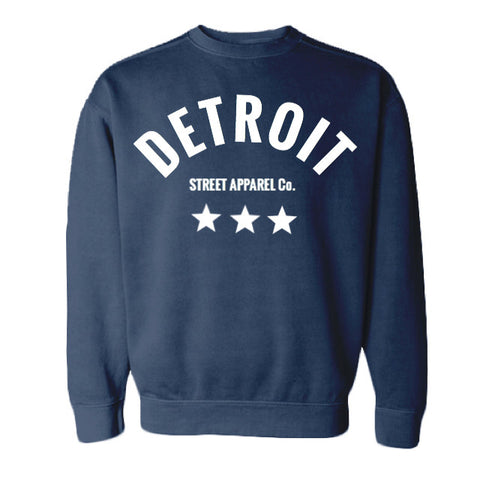 Detroit Street Apparel Star crew neck sweatshirt