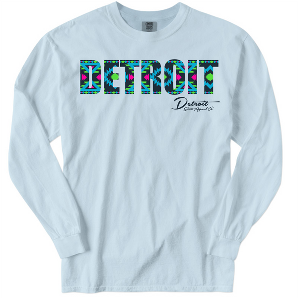 DSA Detroit Aztek Pigment Dyed Long Sleeve Tee
