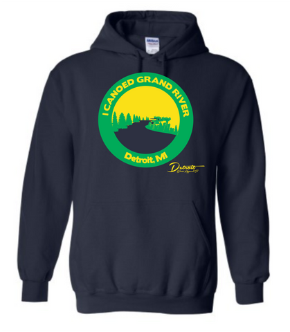 Detroit Street Apparel Canoe Grand River Sweatshirts