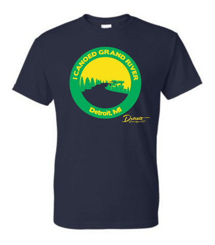 Detroit Street Apparel Canoe Grand River T-Shirt
