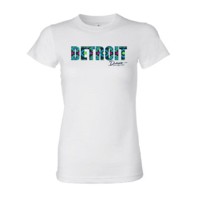 Detroit Street Apparel Co. Aztek Print Ladies T-Shirt