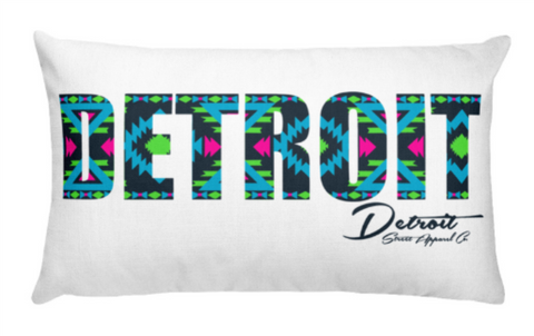 Detroit Street Apparel Aztek Pillow