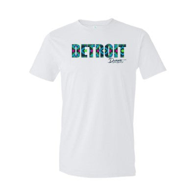 Detroit Street Apparel Co. Aztek Print Men's T-Shirt