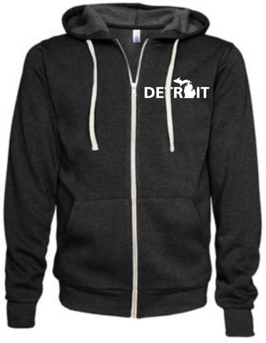 Detroit Street Apparel Detroit Michigan Hooded Sweatshirt