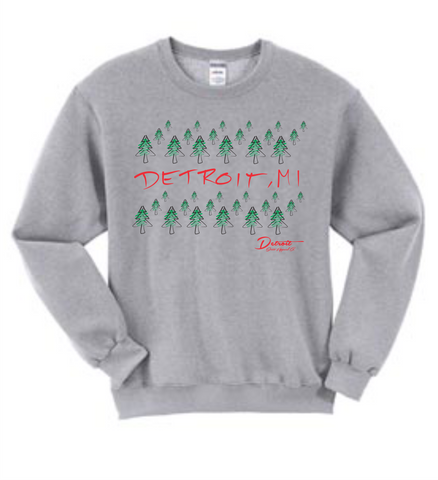 NEW Detroit Street Apparel 2018 Holiday Sweatshirt