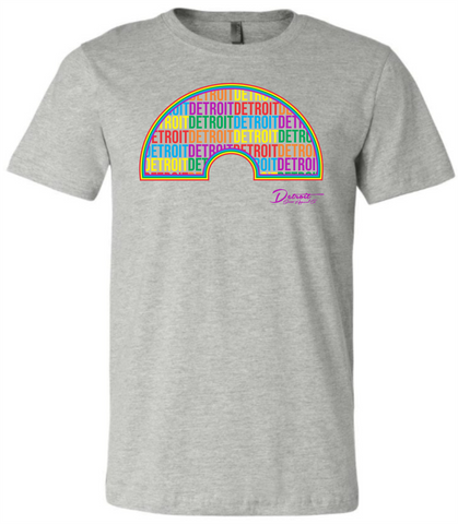 NEW Detroit Rainbow T-Shirt