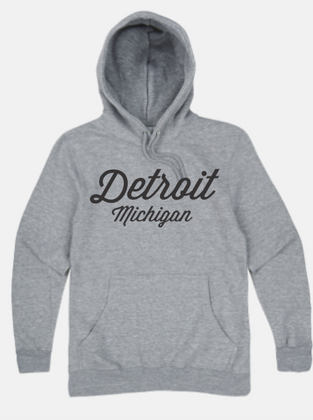Detroit Street Apparel Detroit Script Hooded Sweatshirt
