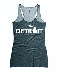 Detroit Street Apparel Ladies Detroit, MI Tank Top