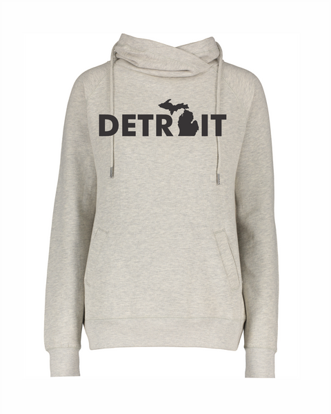 DSA Detroit Mitten Funnel Neck Sweatshirt