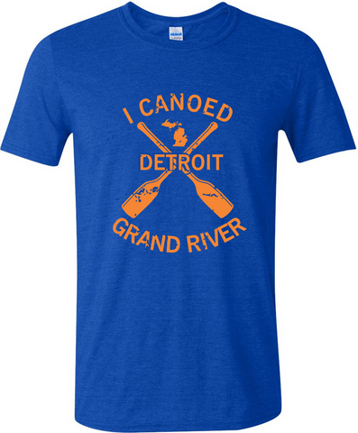 Detroit Street Apparel I Canoed Grand River T-Shirt