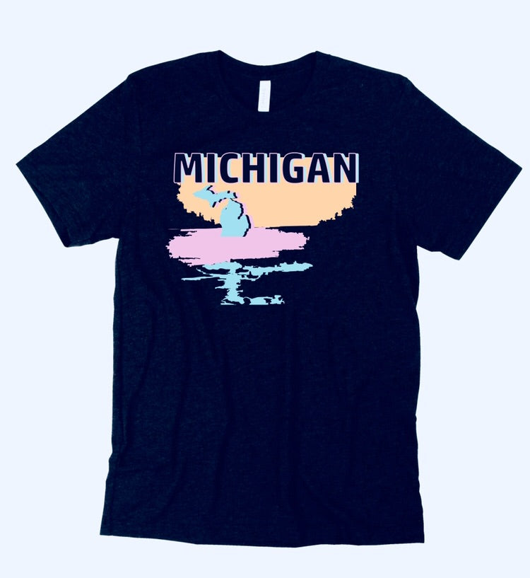 NEW Michigan Sunrise Detroit Street Apparel Co.