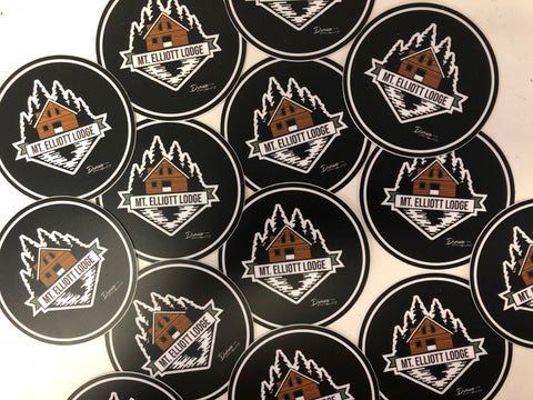 Mt. Elliott Lodge Stickers