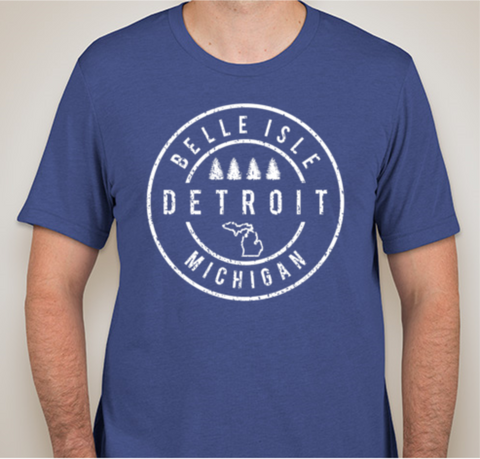 NEW Detroit Street Apparel Belle Isle T-Shirt