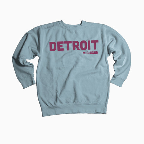 NEW Comfort Color Detroit, Michigan Sweatshirt