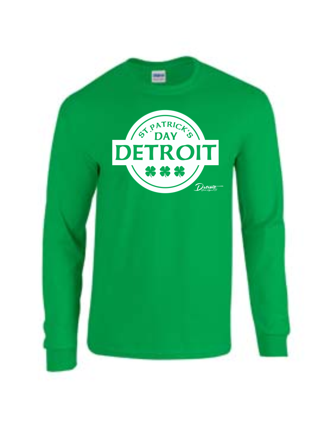 Detroit Street Apparel CO. 2015 St. Patrick's Day  T-Shirt