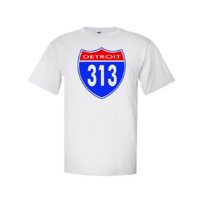 Detroit Street Apparel Co. Detroit 313 Men's T-Shirt