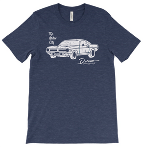The Motor City Tee Detroit Street Apparel Co T-Shirt