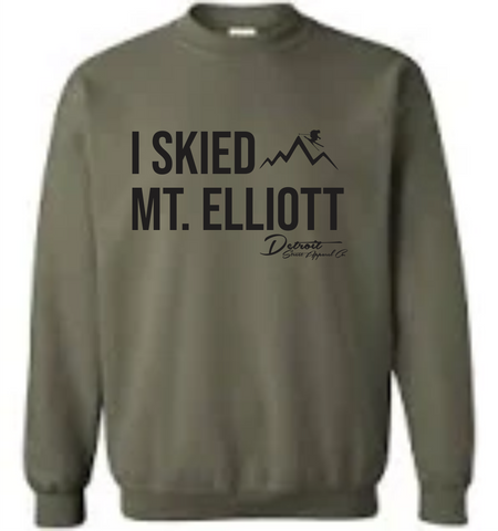 I Skied Mt Elliott Crewneck Sweatshirt