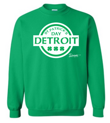 Detroit Street Apparel CO. 2015 St. Patrick's Day Sweatshirt