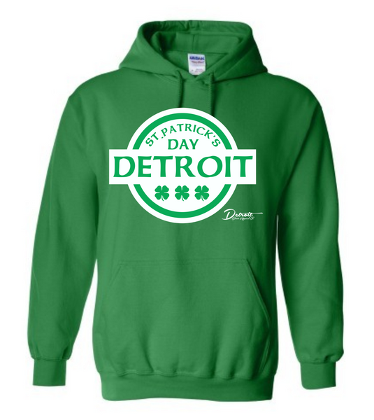 Detroit Street Apparel Co. St. Patrick's Day Sweatshirt