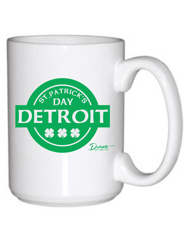 Detroit Street Apparel CO. 2015 St. Patrick's Day Coffee Mugs