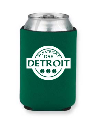 Detroit Street Apparel CO. 2015 St. Patrick's Day KOOZIE