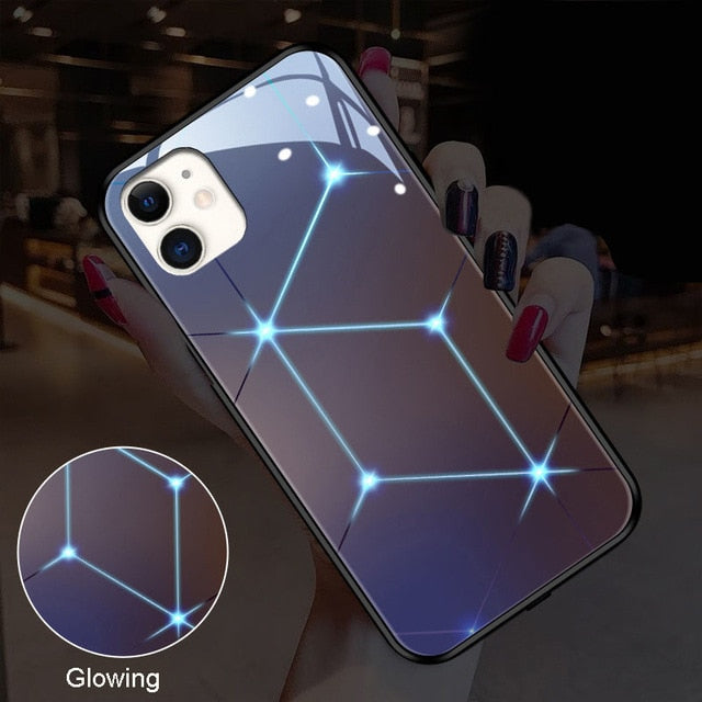 Sound activated Luminating Mobile Phone Case