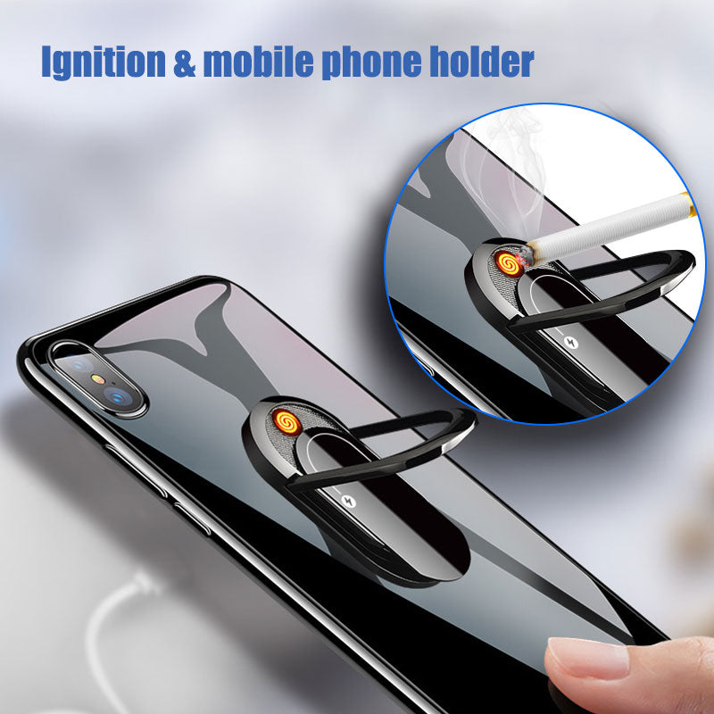 USB Mobile Bracket Lighter