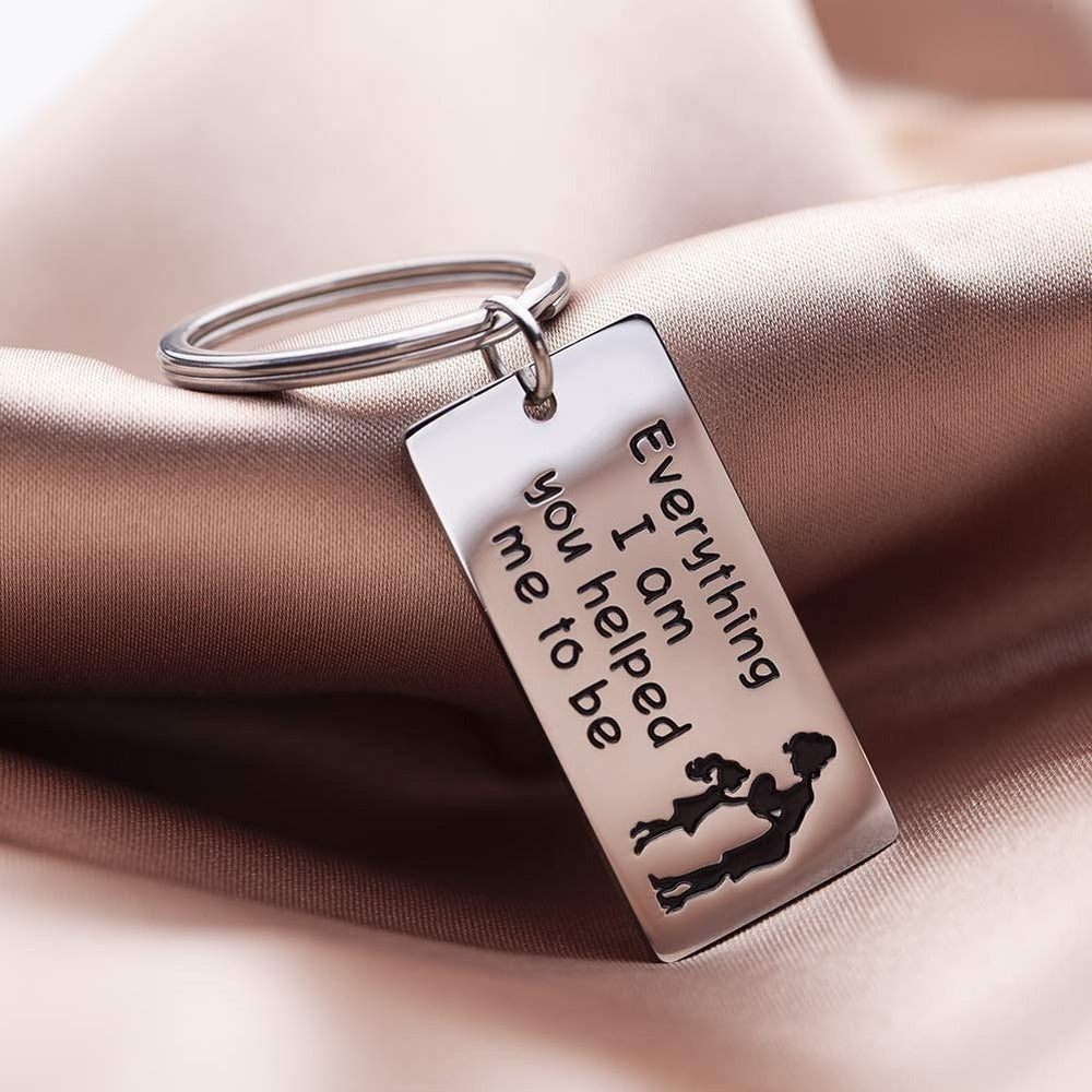Mother's Day Gift Keychain for Mom Mum Mother From Daughter