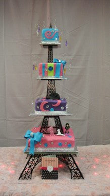 Multi Tier Eiffel Tower Cake Stand