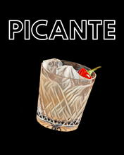 Load image into Gallery viewer, PICANTE SWEATSHIRT JET BLACK