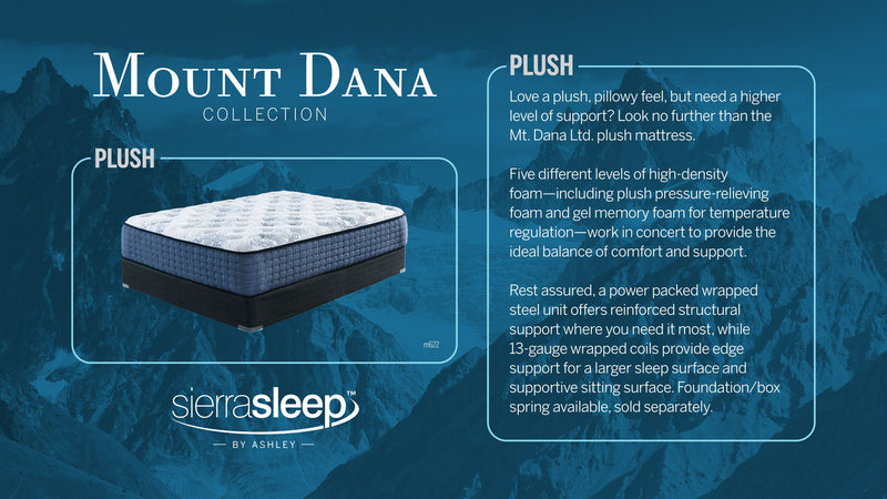 Mt Dana Plush 2 Pc.