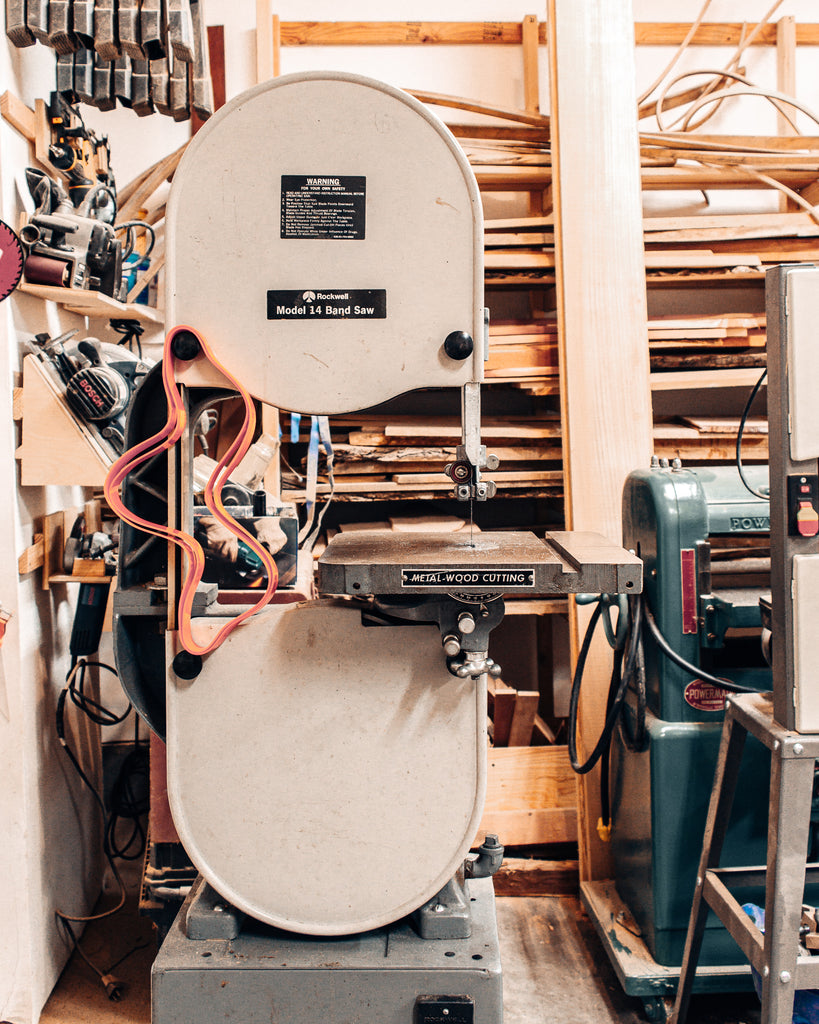 How We Tuned Our Rockwell Bandsaw