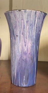 Vase Purple handmade