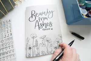 Beauty from Ashes | Isaiah 61 | A5 dotted notebook