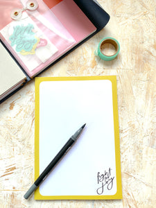 Fight for Joy Notepad