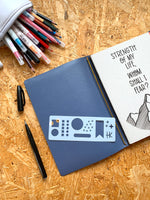 Load image into Gallery viewer, Mini Geometric | Stencil | Journaling