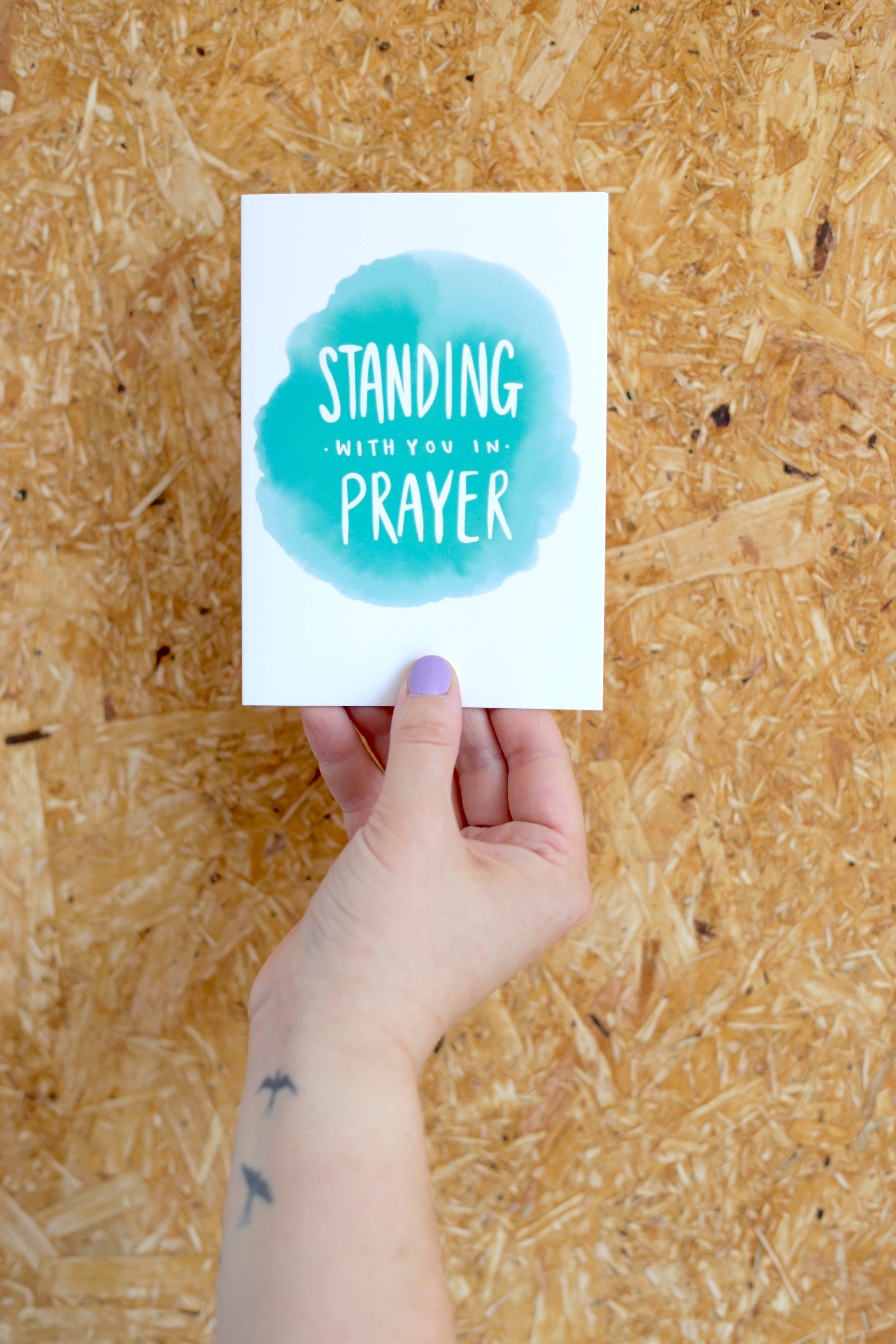 Standing with you in Prayer | Card