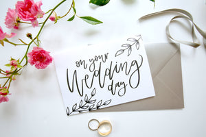 On Your Wedding day | Card