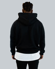 Lade das Bild in den Galerie-Viewer, Basic Hoodie Black Men