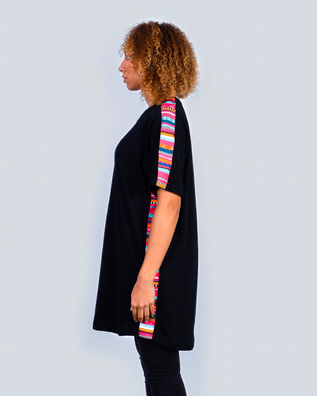 Colors Tee Dress Black