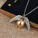 Load image into Gallery viewer, The Golden Snitch Necklace ✨