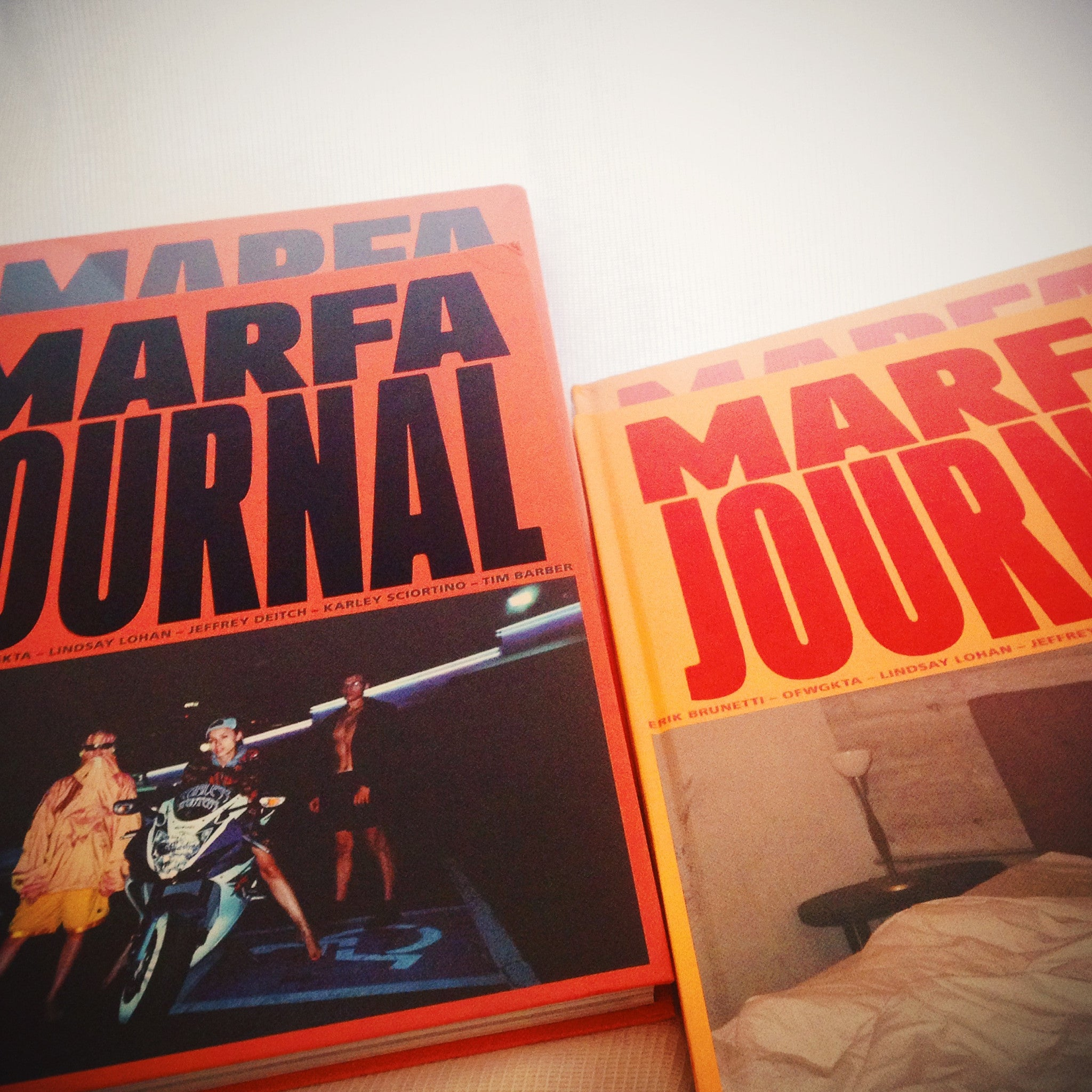 MARFA JOURNAL 01 (Yellow cover)